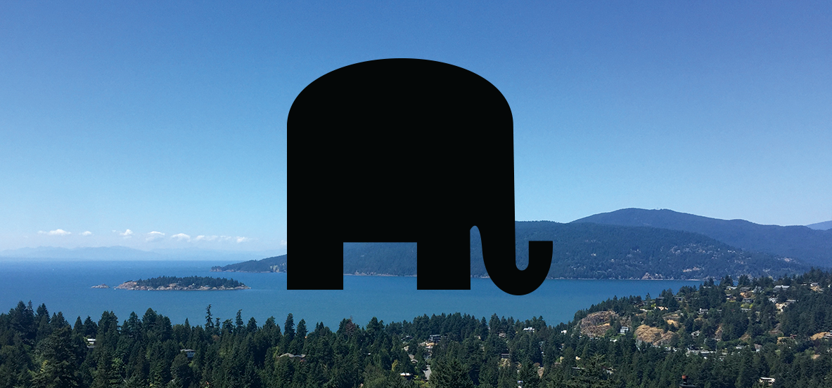 Republican Elephant Retractable Screen Decals (5 Count) - Screen Door DecalsScreen Door Decals