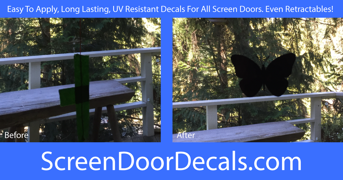 Screen Door Decals For Retractable Screens Window